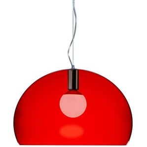 Kartell Small Fl/Y, Suspension Lamp, Rot