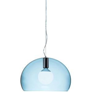 Kartell Small Fl/Y, Suspension Lamp, Wolkenblau