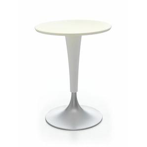 Kartell Tisch Dr. Na weiß, Designer Philippe Starck, 73 cm