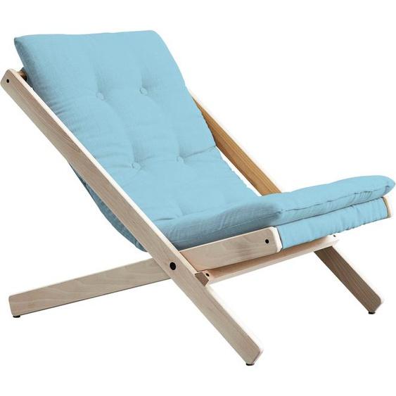 Klappstuhl »Boogie«, FSC®-zertifiziert, Karup Design, blau, Material Buche