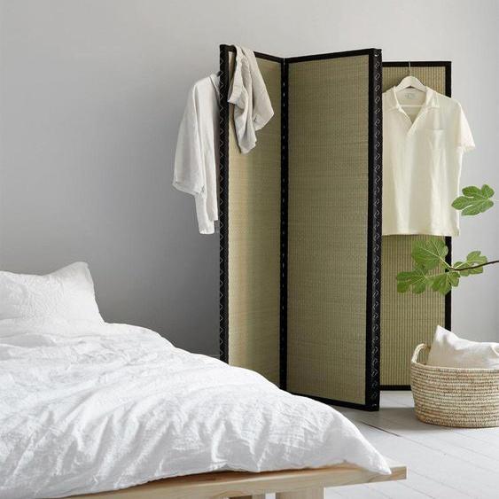 Karup Design Raumteiler Wabi 160x40x160 cm beige Paravents Wohnaccessoires Regale