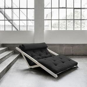Relaxliege »Figo«, grau, 120 cm, FSC®-zertifiziert, Karup Design