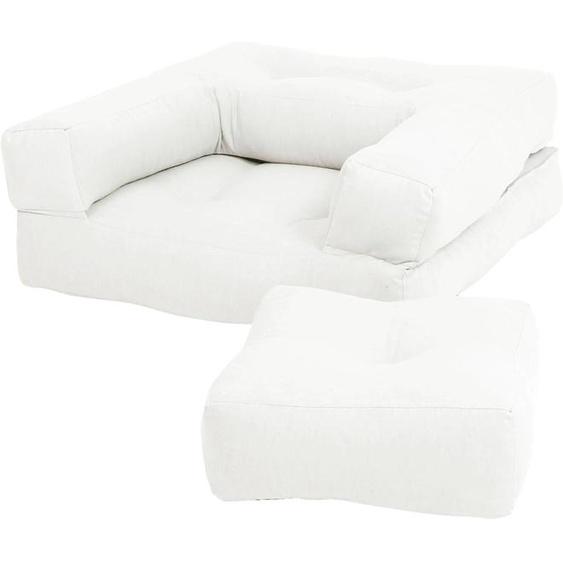 Karup Design Sessel Mini Cube Einheitsgröße beige Kinder Kindersessel Kindersofas Kindermöbel