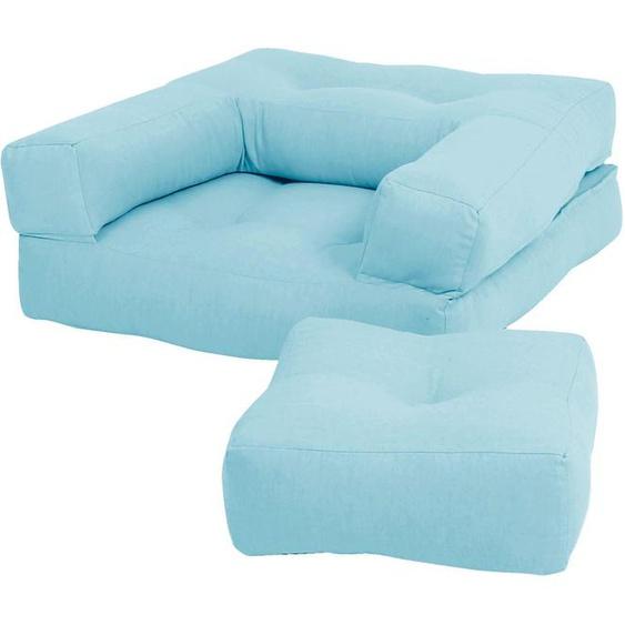 Karup Design Sessel Mini Cube Einheitsgröße blau Kinder Kindersessel Kindersofas Kindermöbel