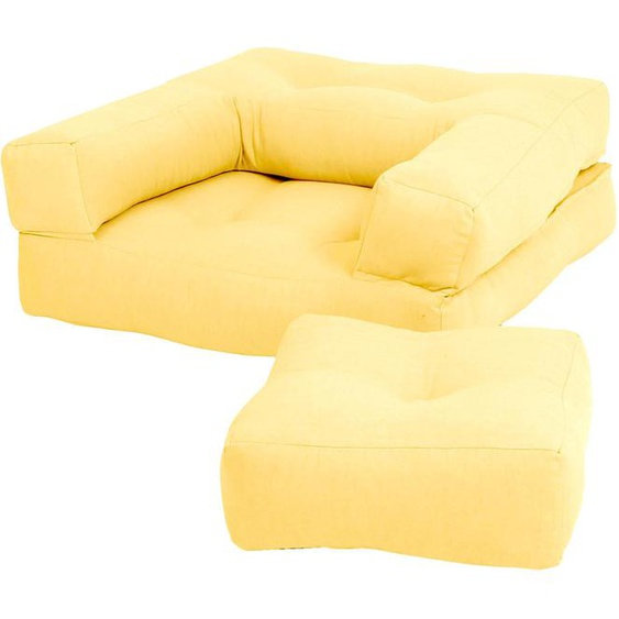 Karup Design Sessel Mini Cube Einheitsgröße gelb Kinder Kindersessel Kindersofas Kindermöbel