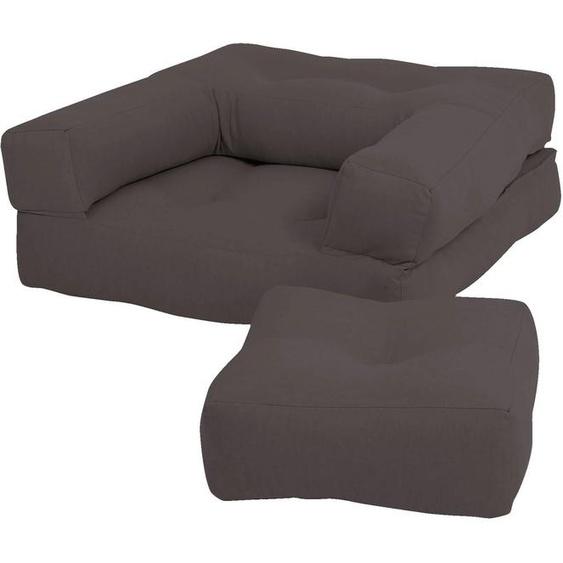 Karup Design Sessel Mini Cube Einheitsgröße grau Kinder Kindersessel Kindersofas Kindermöbel