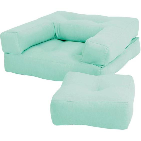 Karup Design Sessel Mini Cube Einheitsgröße grün Kinder Kindersessel Kindersofas Kindermöbel