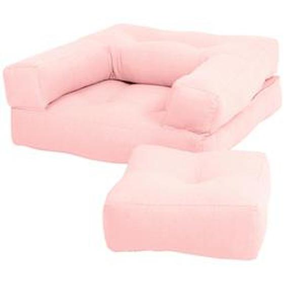 Karup Design Sessel Mini Cube Einheitsgröße rosa Kinder Kindersessel Kindersofas Kindermöbel
