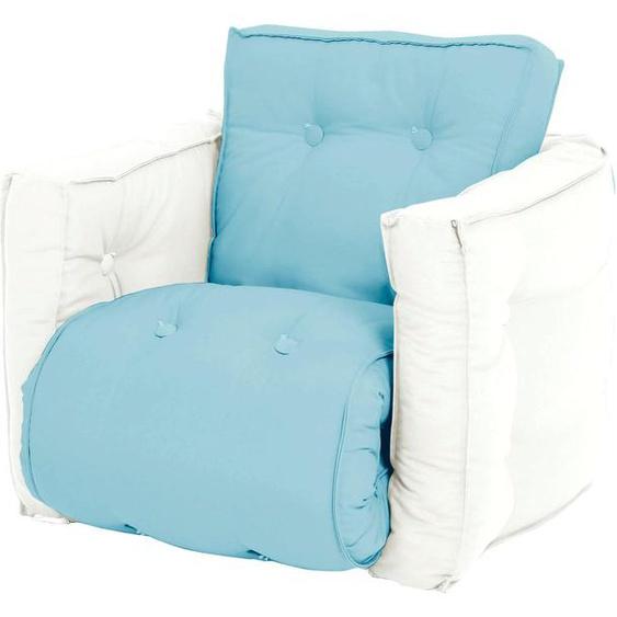 Karup Design Sessel Mini Dice Einheitsgröße blau Kinder Kindersessel Kindersofas Kindermöbel
