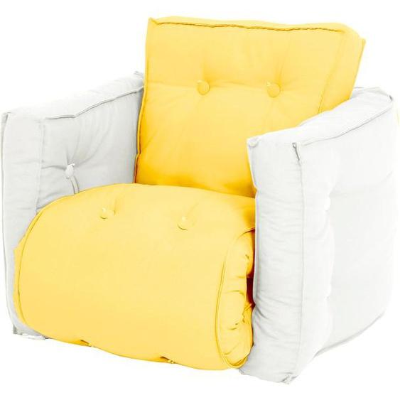 Karup Design Sessel Mini Dice Einheitsgröße gelb Kinder Kindersessel Kindersofas Kindermöbel