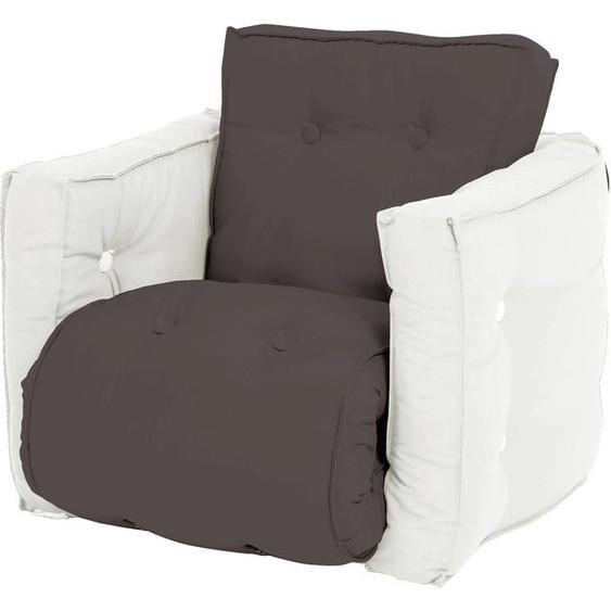 Karup Design Sessel Mini Dice Einheitsgröße grau Kinder Kindersessel Kindersofas Kindermöbel