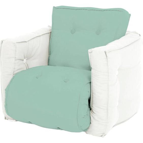 Karup Design Sessel Mini Dice Einheitsgröße grün Kinder Kindersessel Kindersofas Kindermöbel