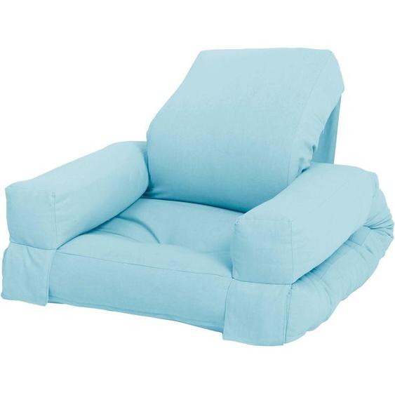 Karup Design Sessel Mini Hippo Einheitsgröße blau Kinder Kindersessel Kindersofas Kindermöbel