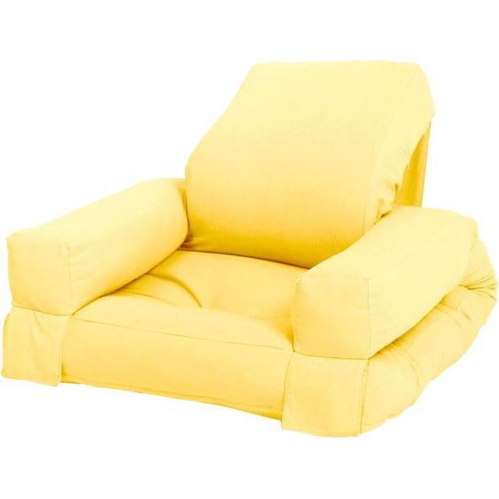 Karup Design Sessel Mini Hippo Einheitsgröße gelb Kinder Kindersessel Kindersofas Kindermöbel