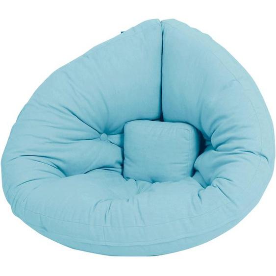 Karup Design Sessel Mini Nido Einheitsgröße blau Kinder Kindersessel Kindersofas Kindermöbel