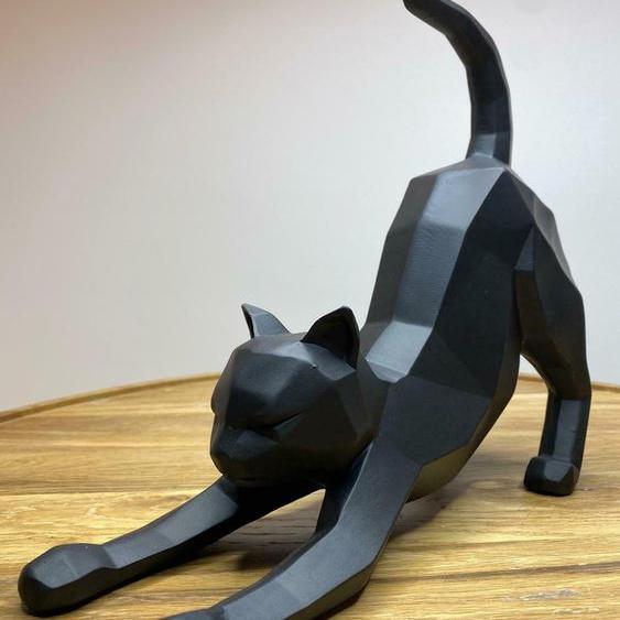 Katze Als Dekoration I Origami Figur I Present Time I Dekofiguren