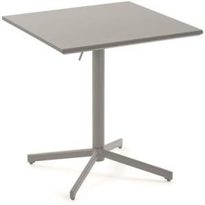Kave Home - Advance Tisch 70 x 70 cm, matt, grau