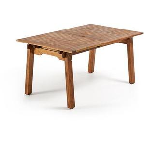 Kave Home - Heyden, rechteckiger Tisch, 160 (210) x 100 cm