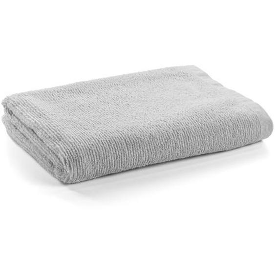 Kave Home - Miekki großes Handtuch Bad, hellgrau