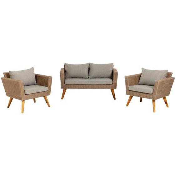 Kave Home - Sumie Set, bestehend aus Sofa und 2 Sessel