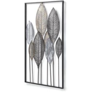 Kave Home - Wand Objekt Blätter 52,5 x 95 cm