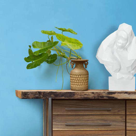Kayoom Dekofigur Kenya 200 Einheitsgröße weiß Figuren Skulpturen