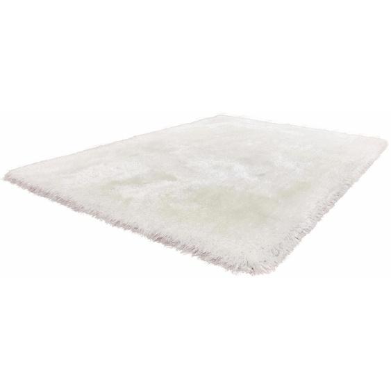 Kayoom Hochflor-Teppich Cosy, rechteckig, 80 mm Höhe, Besonders weich durch Microfaser, Wohnzimmer 6, 200x290 cm, weiß Kinder Bunte Kinderteppiche Teppiche