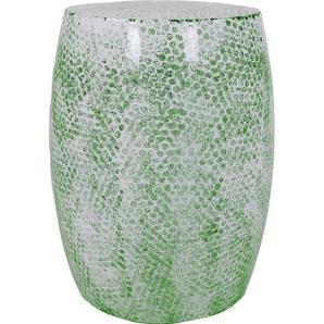 Kayoom Hocker Colombo 0, Maße (B/T/H/Ø): 39/39/49/39 cm grün Sitzhocker