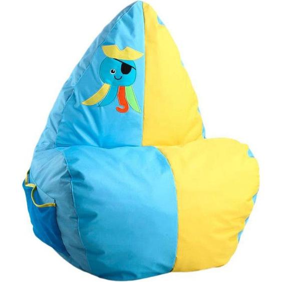 Kayoom Sitzsack »Anton Oktopus«, (1 Stück), blau