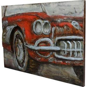 Kayoom Wandbild »Metall Used Car I«, 120cm x 80cm