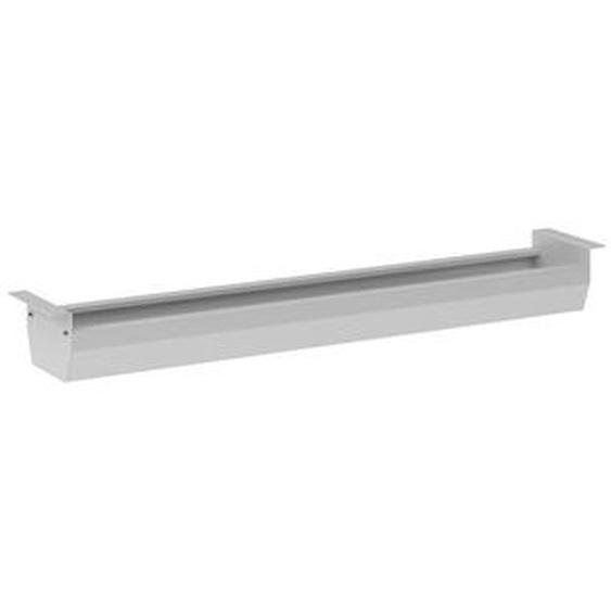 KC12 S | Kabelkanal horizontal | Silber - Silber 120 cm