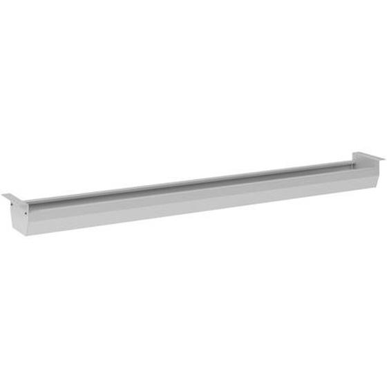 KC16 S | Kabelkanal horizontal | Silber - Silber 160 cm