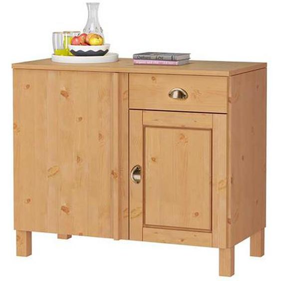 Küchenschrank aus Kiefer Massivholz 100 cm breit