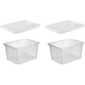 keeeper Aufbewahrungsbox »emil« (Set, 2 Stück, 2), aufeinander stapelbar