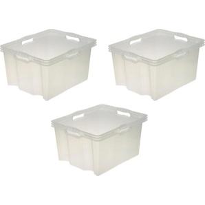 keeeper Aufbewahrungsbox »franz« (Set, 3 Stück), 24 Liter