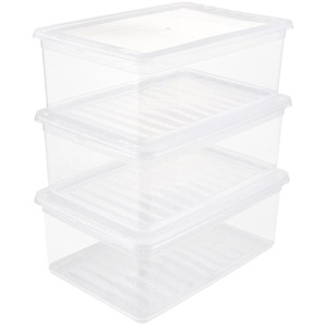 keeeper Stapelbox »bea« (Set, 3 Stück), mit Belüftungsfunktion