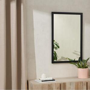 Keily Wandspiegel (90 x 60 cm), Schwarz