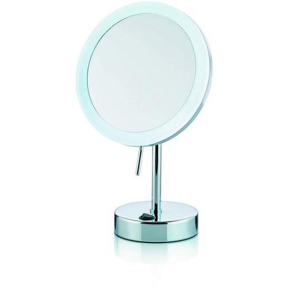Kela Kosmetikspiegel , Weiß , Metall , 31.5 cm