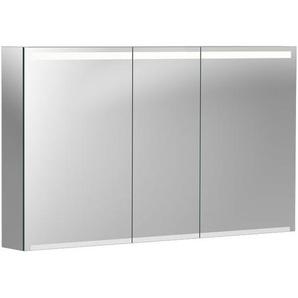 Geberit Option Spiegelschrank mit Beleuchtung, drei Türen, Breite 120 cm, 500207001 - 500.207.00.1 - KERAMAG