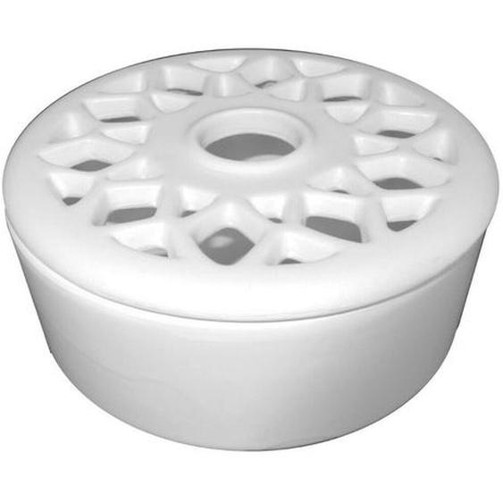 Keramik Raumluftbefeuchter Tasse Hell Beige Verdunster Luftbefeuchter