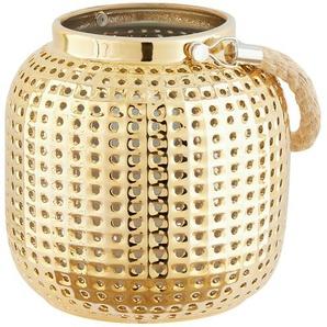 Keramik-Tischleuchte, goldfarben ¦ gold Ø: 16