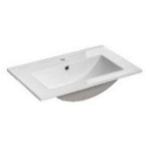 Keramik Waschbecken / Waschtisch 62cm TIVOLI-56 weiß B/H/T ca. 62/17/40cm