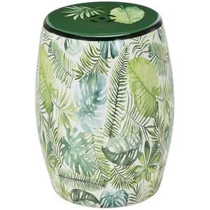 Keramikhocker  Jungle ¦ mehrfarbig Polstermöbel  Hocker » Höffner