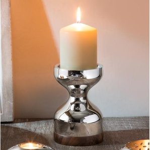 Kerzenhalter Limbrey aus Edelstahl