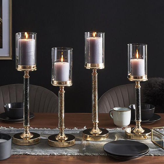 Kerzenständer gold 41 cm ABBEVILLE