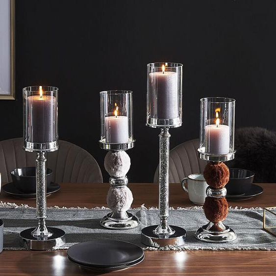 Kerzenständer silber 41 cm ABBEVILLE