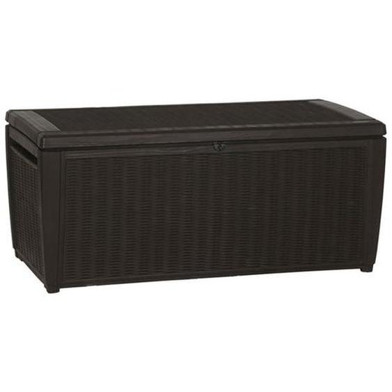 Keter Sumatra Kissenbox 145x72cm Kunstsotff Braun