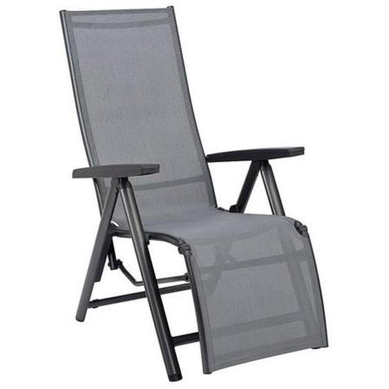Kettler Cirrus Relaxsessel Aluminium/Textilen Dunkelgrau