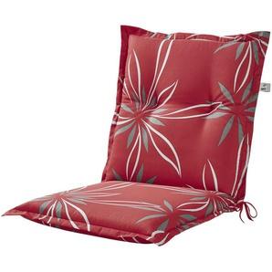 KETTLER Polska Auflage  Red Bloom ¦ rot ¦ Maße (cm): B: 50 H: 8 Garten  Auflagen & Kissen  Niederlehner-Auflagen » Höffner