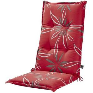 KETTLER Polska Auflage  Red Bloom ¦ rot ¦ Maße (cm): B: 50 H: 8 Garten  Auflagen & Kissen  Hochlehner-Auflagen » Höffner